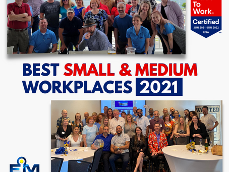 We Made the Fortune Magazine and Great Place to Work US' Best Small & Medium Workplaces™ List Again!