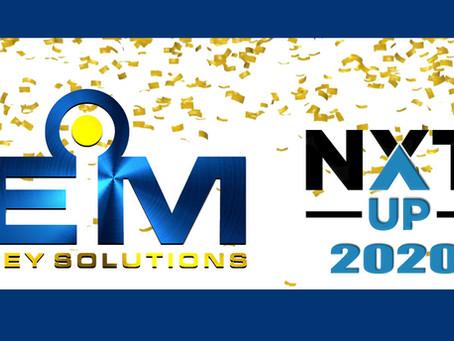 EMKS Is on the 2020 NXT UP List