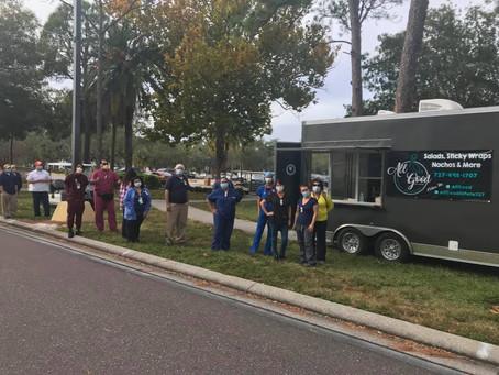 EMKS Donates 100 Meals to Bay Pines VA Hospital Workers