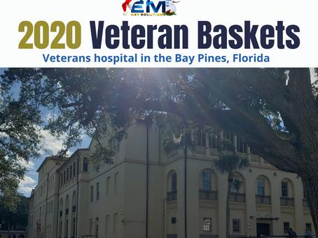 2020 Veteran Baskets for local VA hospital