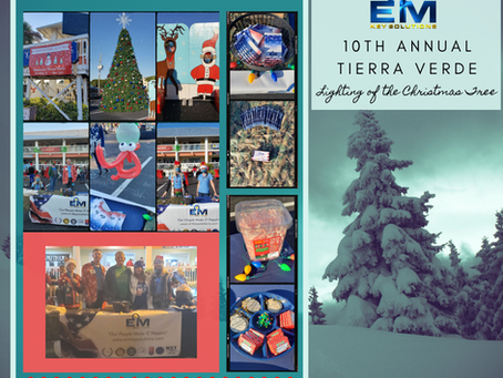 10th Annual Tierra Verde Lighting of the Christmas Tree