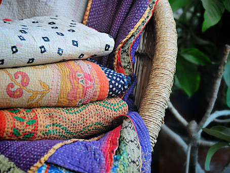 Kantha - the OG of fashion upcycling from India