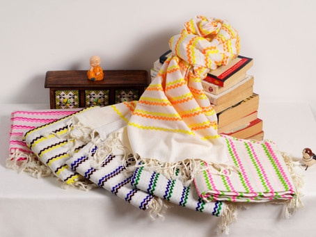 A sustainable start with handloom scarves