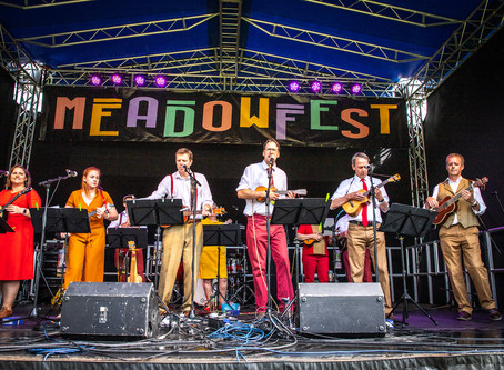 Did you make it to MeadowFest a couple of weeks ago?
