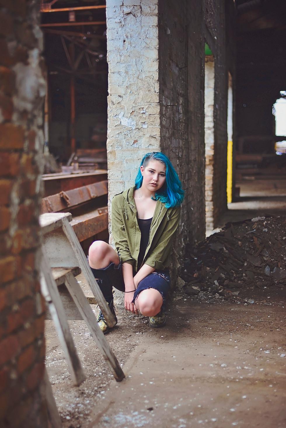 Karina, Beauty in Abandonment | Monaca, PA | Pittsburgh Senior Portraits