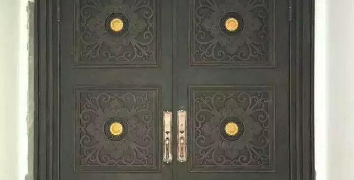 100% custom made sale Australia wood and iron front doors