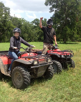 ATV Guided Ranch Tour in Austin Texas