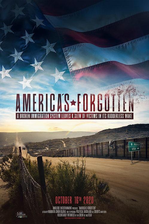 AMERICA'S FORGOTTEN | DVD