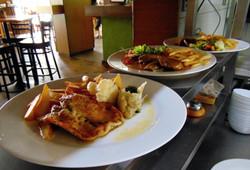 Metropolitan bar-restaurant Coolna - z denního menu...
