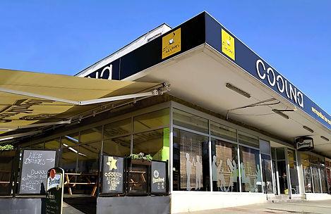 Budova restaurace Coolna