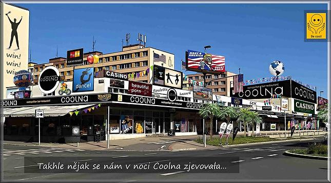 Restaurace Coolna v grafické úpravě