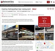 webová stránka restaurace