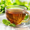 Čaj z čerstvé máty, citron