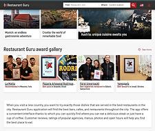 webová stránka restaurant guru