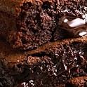 Chocolate brownie s vanilkovou zmrzlinou (3,7)