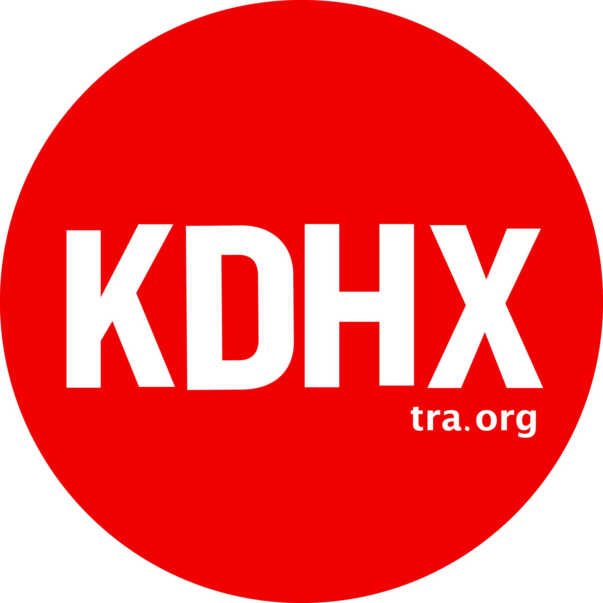 KDHX logo 2016
