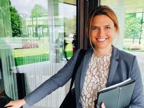 Sarah Schweizer wird stellvertretende Vorsitzende des Finanzausschusses