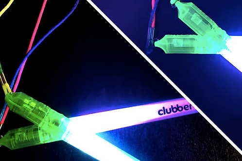 Clubbercise Official Glow Sticks - 1 Pair