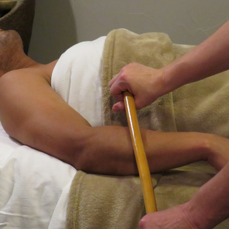 Bamboo Arm Massage