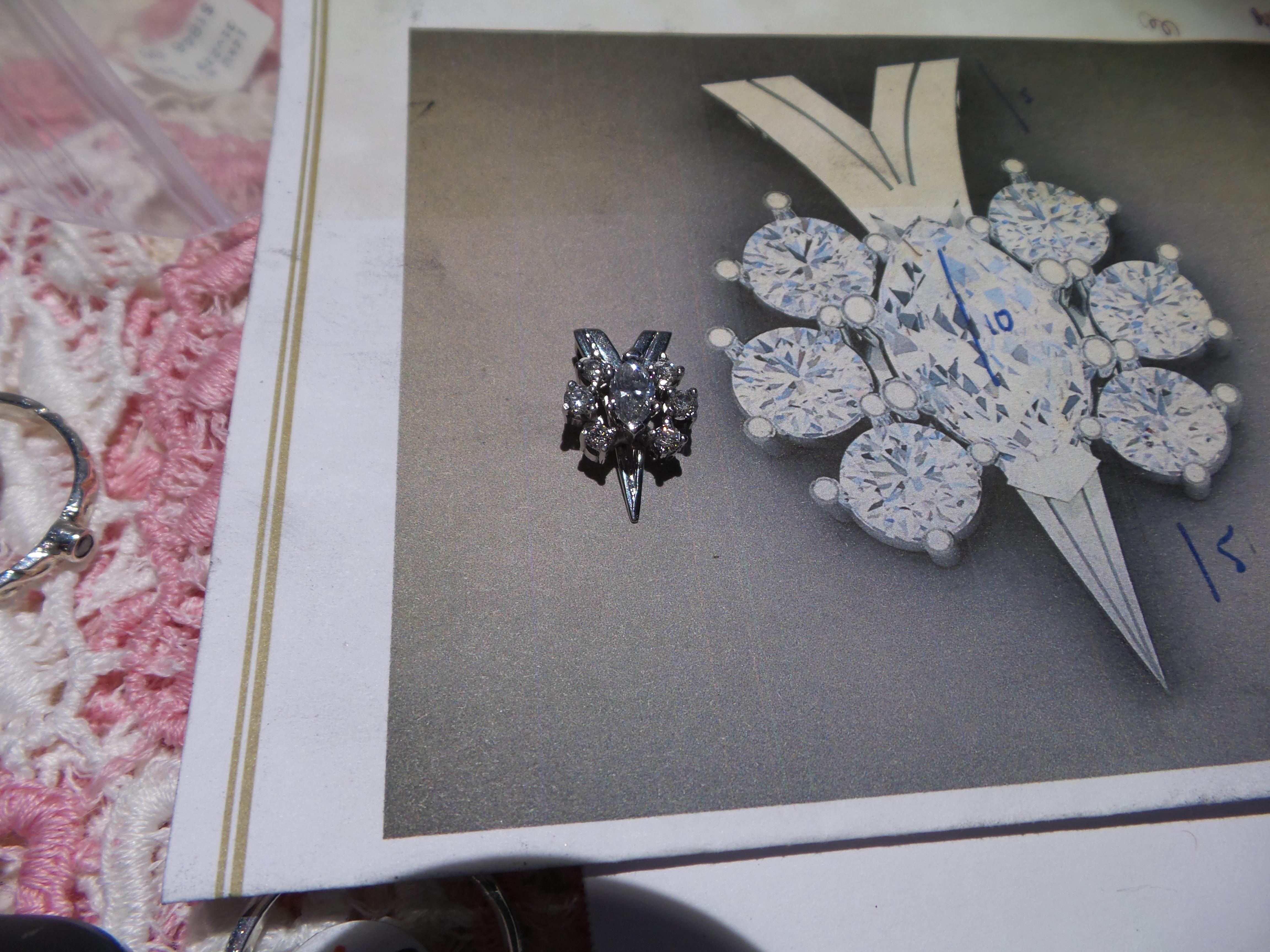 14kt Diamond Pendant