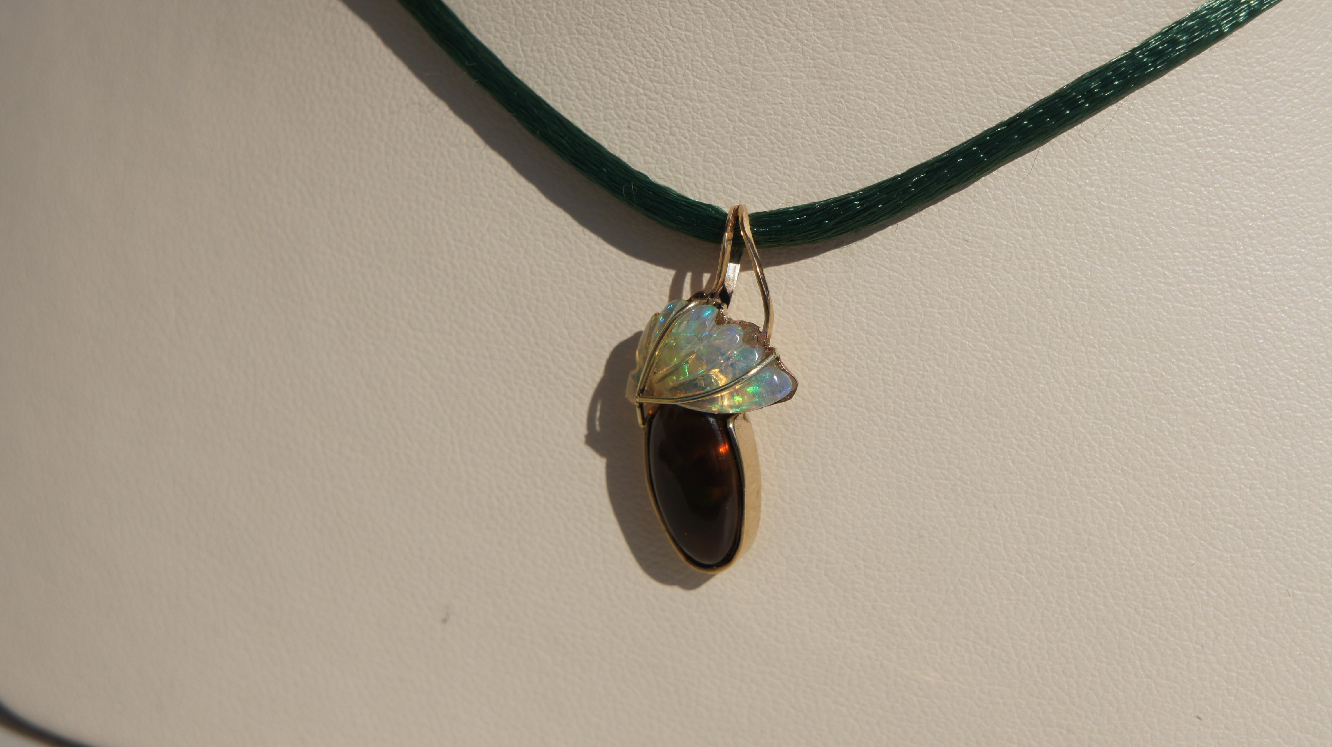 Opal & Garnet