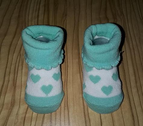 Socken türkis