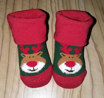Socken Rentier