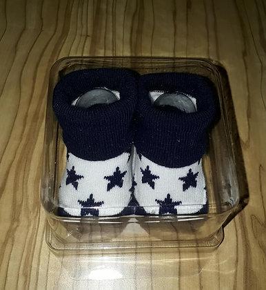 Socken Sterne dunkelblau