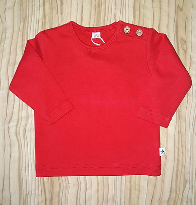 Shirt, langarm rot