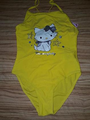 Badeanzug Hello Kitty gelb