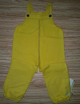 Latzhose gelb