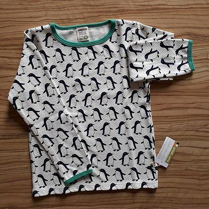 Shirt Pinguin weiss