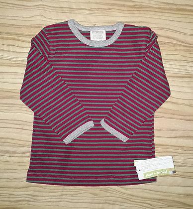 Shirt fuchsia gestr