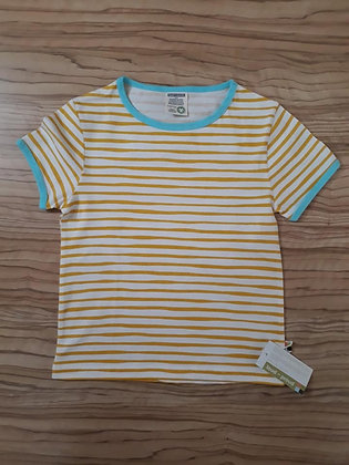 T-Shirt gestr gelb