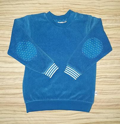 Nickypullover blau