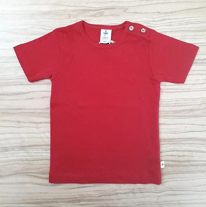 Shirt kurzarm rot