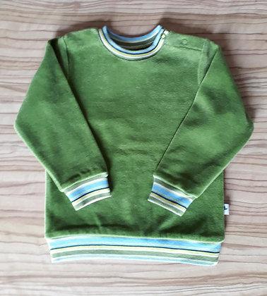 Nickypullover grün