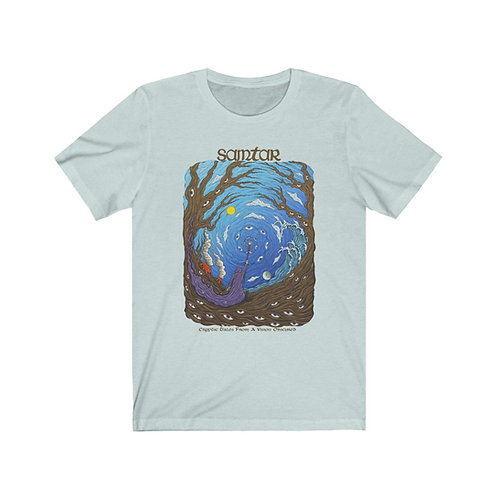 Cryptic Tales (COLOR) Unisex Jersey Short Sleeve Tee