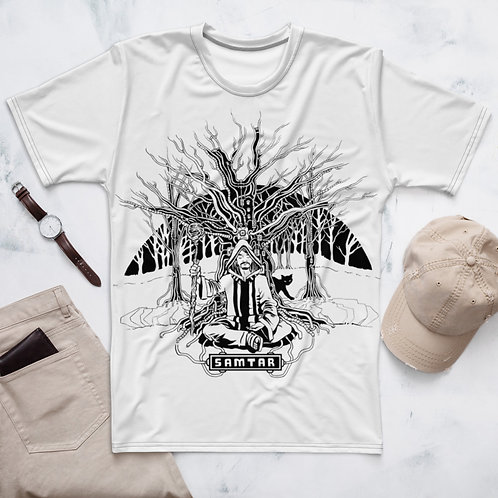 Samtar Big Print T-Shirt (white)