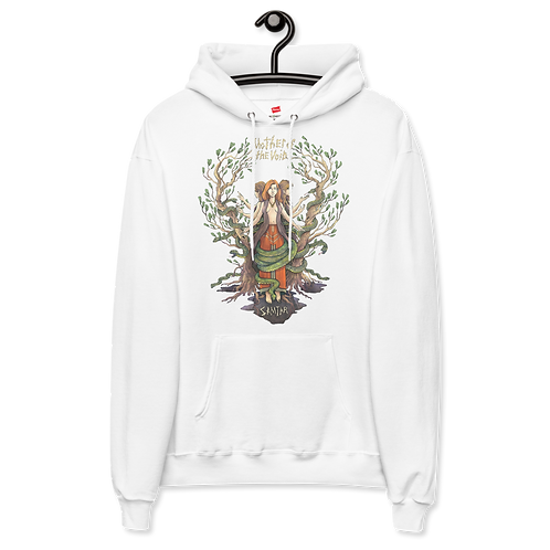 Mother of the Void Hoodie (White + light colors)
