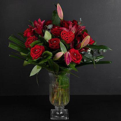 Romantic Rose & Lily