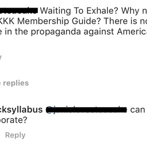Response to a comment left on my Instagram page ...
