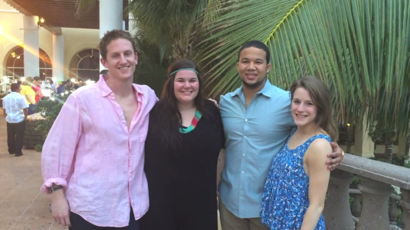 Team Mary in Cancun