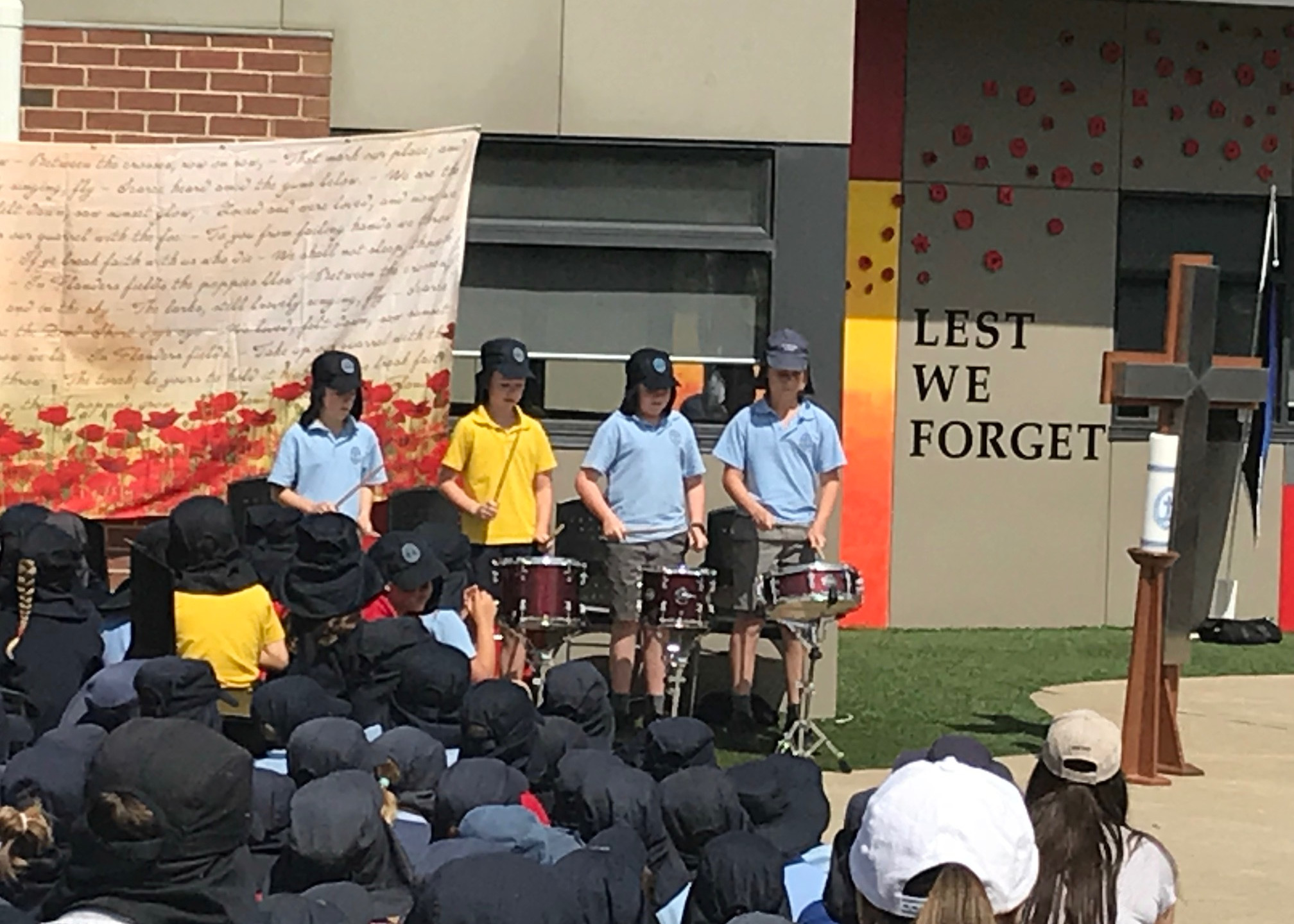 Remembrance - Drummers