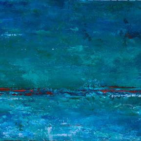 Colores de mar 4, 28 x 32, 3800 con marc