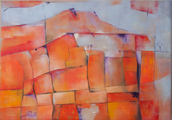 Honor a Cezanne, 70 x 90 SOLD
