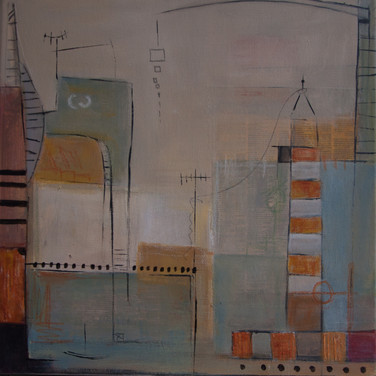 Soñando Puertos_ Lighthouse, 40 x 40