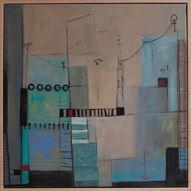 Soñando Puertos_ Small World, 40 x 40