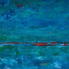 Colores de mar 3,17x24, $ 3800 con marco