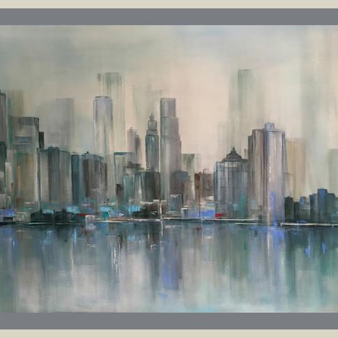 NY,NY2, 80 x 110 cm